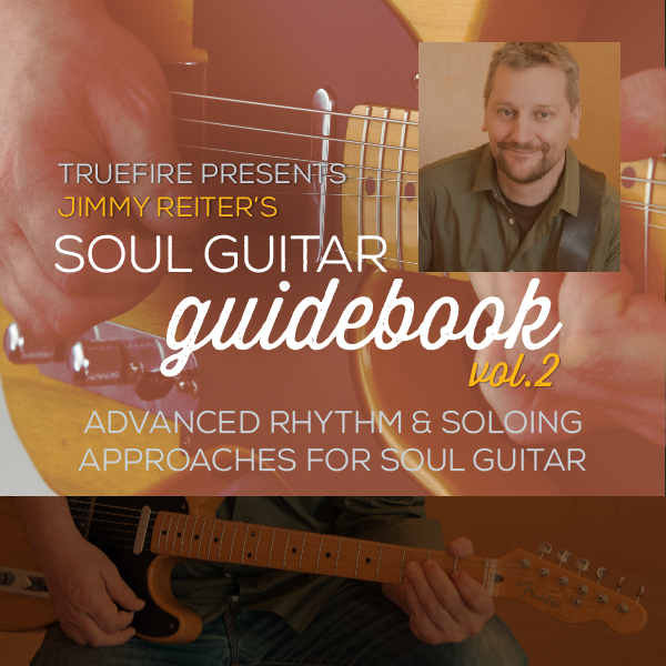 Jimmy Reiter - Soul Guitar Guidebook Vol. 2